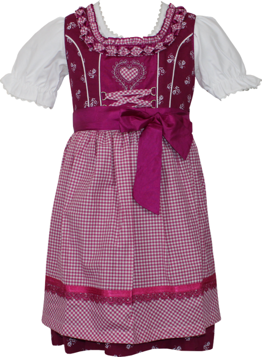Country Maddox Kinderdirndl - pink